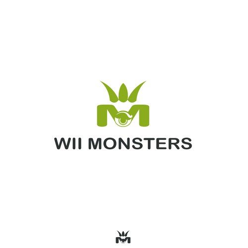 WII MONSTERS Brand Identity