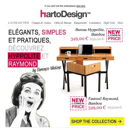Create the next website design for HartoDesign