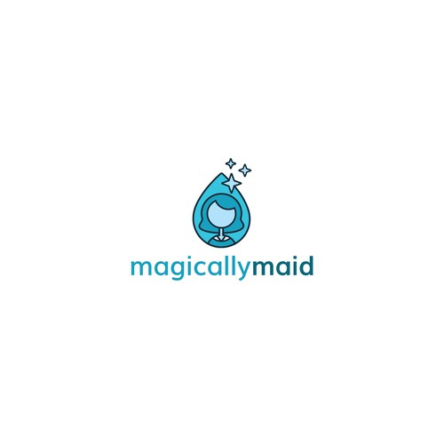 modern unique logo for cleaning company