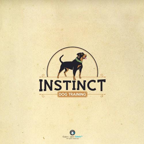 Very professional logo design for  Instinct Dog Training