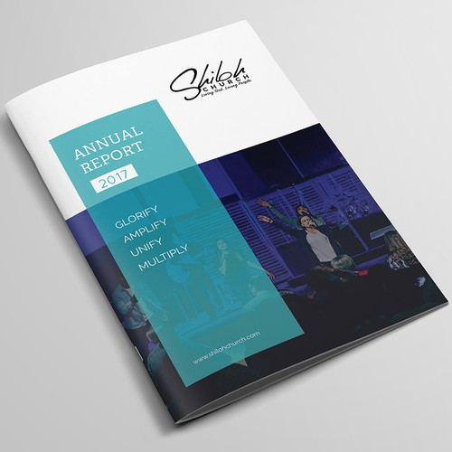 Shiloh Church 2017 Annual Report Design