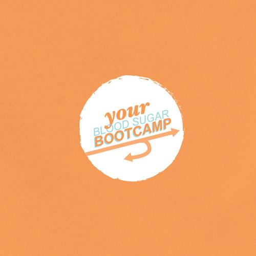 Bold, modern, and fun logo for a high blood sugar reversal program