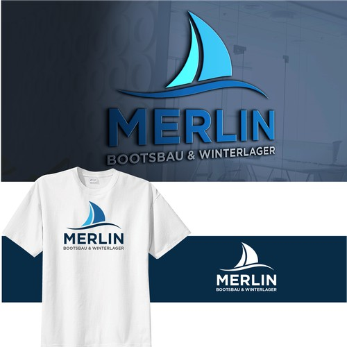 Merlin Logo Design