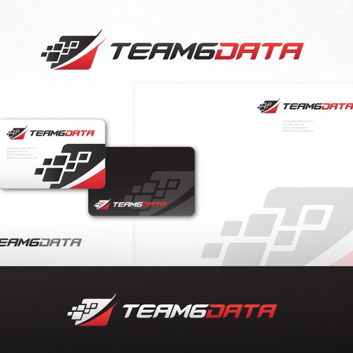 Striking Logo Design for Team6Data
