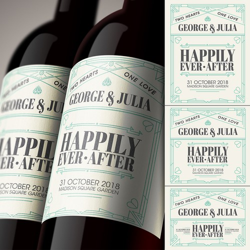 Label Template for Personal Wine