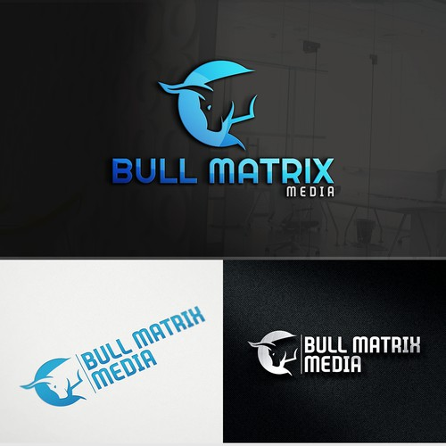 Brand Identity for Bull Matrix Media