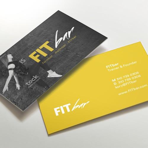 EMS Training logo and business card design