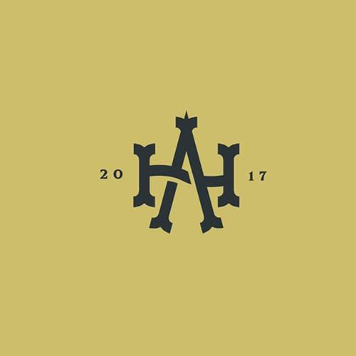 AH monogram