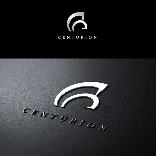 sophisticated and clear logo design for Centurion