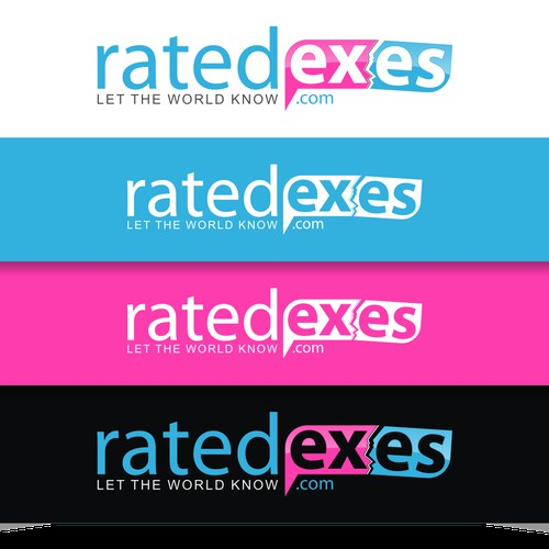 Create a winning logo for Rated Exes