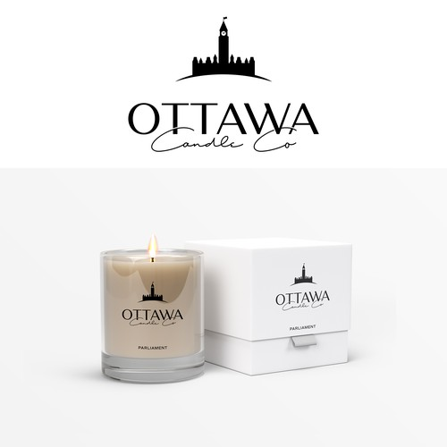 Logo and Packaging for Candle Company