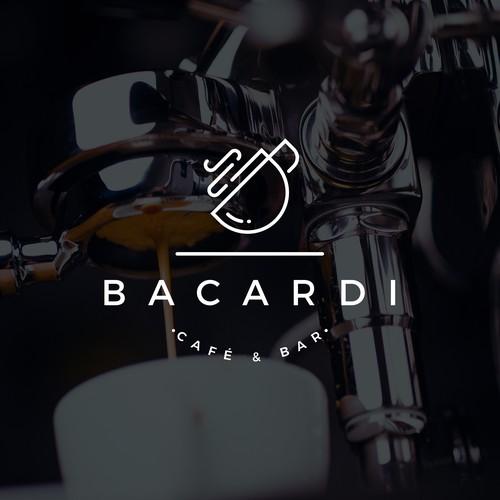 Café & Bar Bacardi Logo