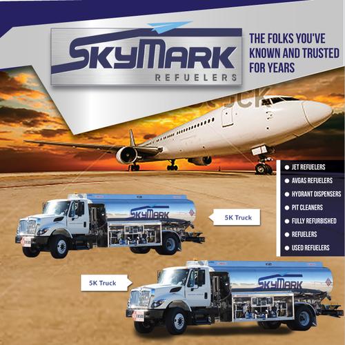 Skymark Poster magazine ad