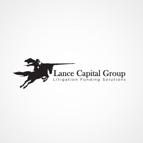 Create vector image of charging knight on horse with a lance symbolic of justice- simple lines