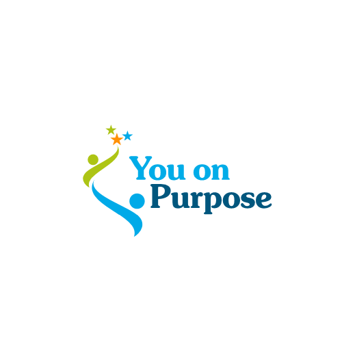 Create a logo for You on Purpose. Who would you be if you knew you couldn't fail?