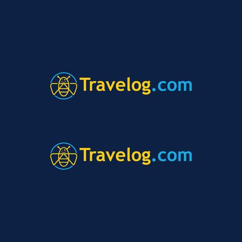 Bold Logo Concept for Travelog.com