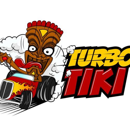 Create the next logo for Turbo Tiki