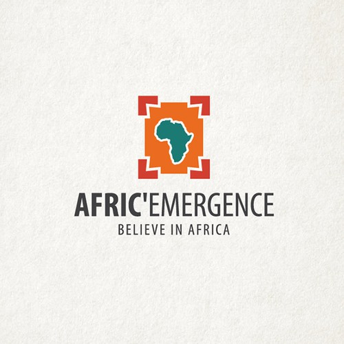 Logo concept for African business company