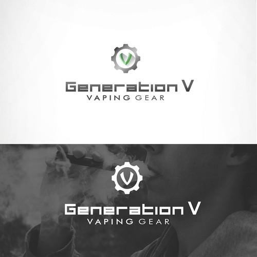 Logo for vaping company