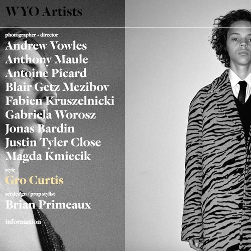 WYO Artists design and development