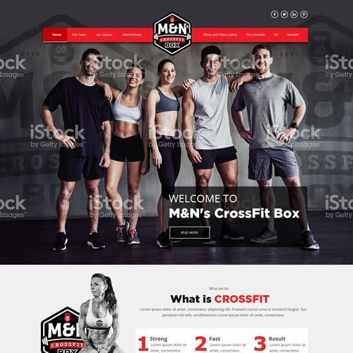 web design for fitness