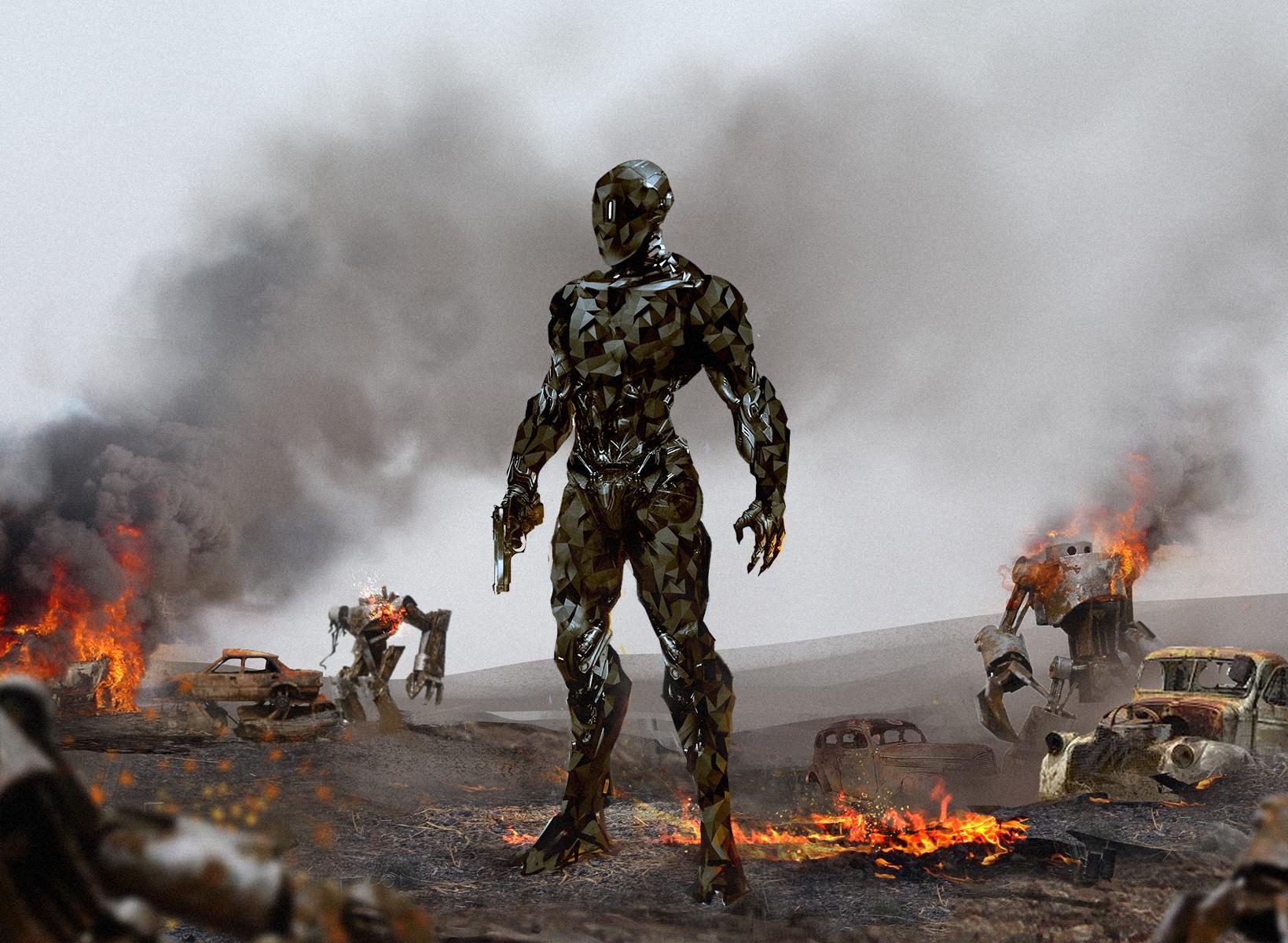 Design Villain Concept Art for Film.