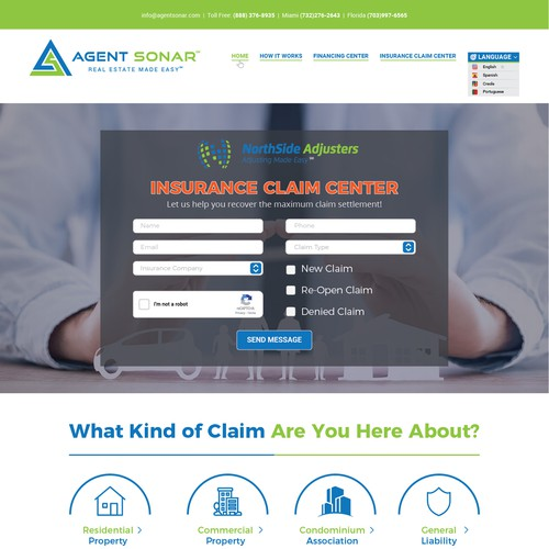 Agent Sonar Website & Development