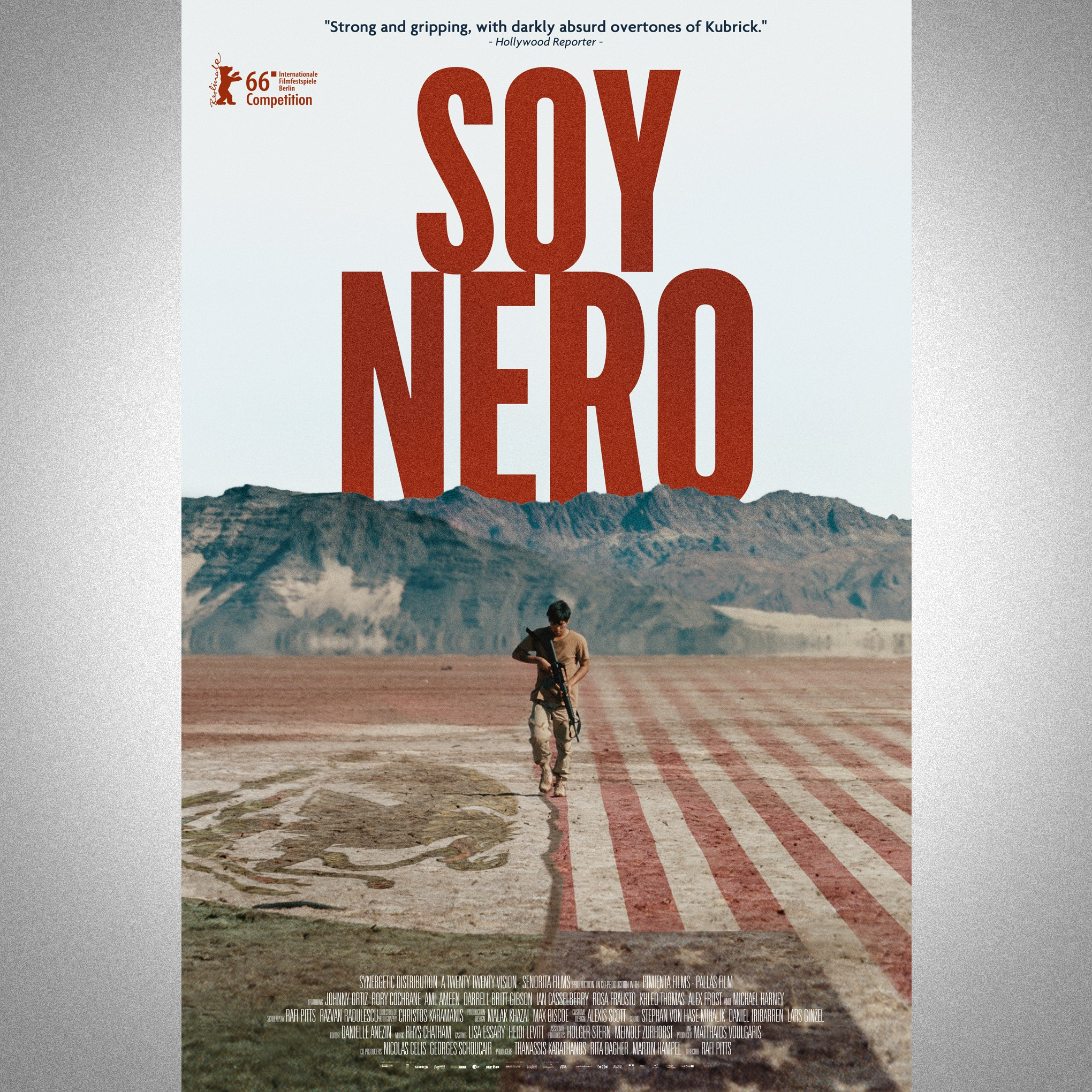 Soy Nero THEATRICAL MOVIE POSTER