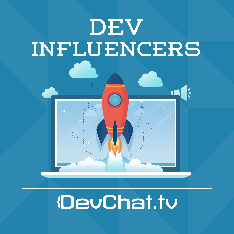 """""""Dev Influencers"""" podcast artwork"""