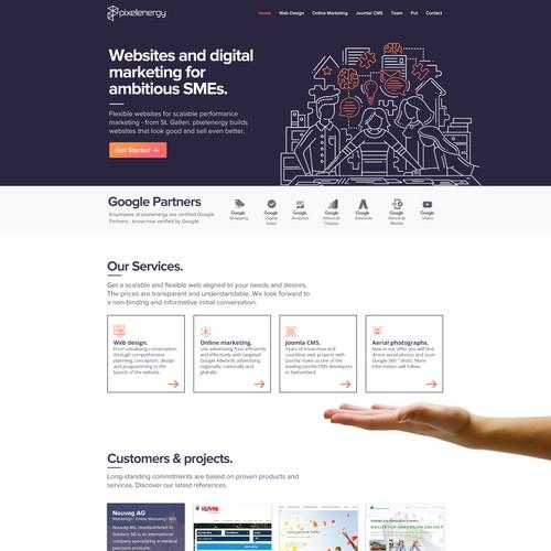 Web Agency Layout