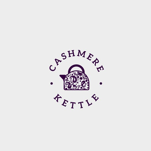Logo for tea company