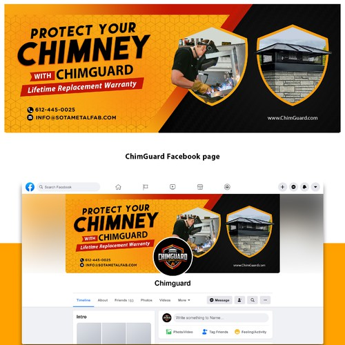 banner ads for chimguard