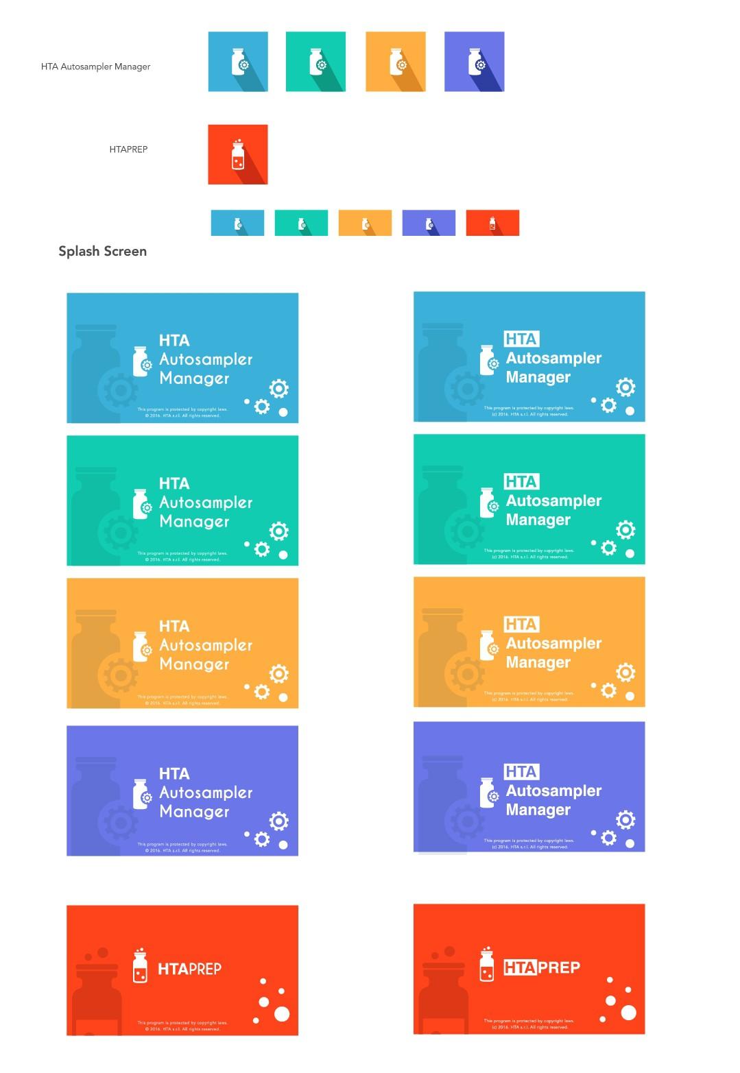 Windows 10 Desktop App: Design Splash Screen and Tile for 2 Software