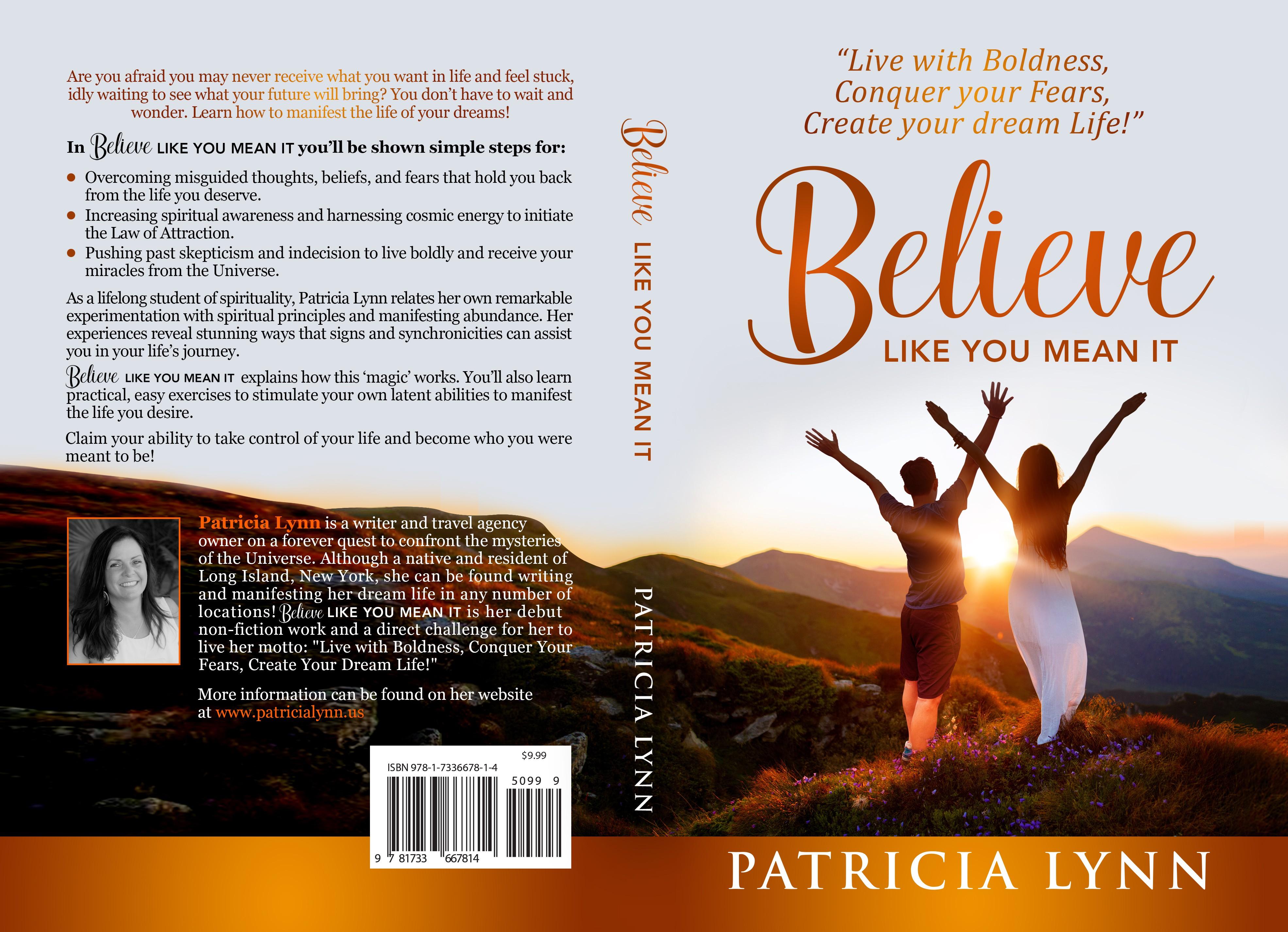 Design an Engaging Book Cover for Spiritual Self-Help Genre!
