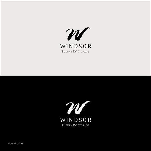 W font logo