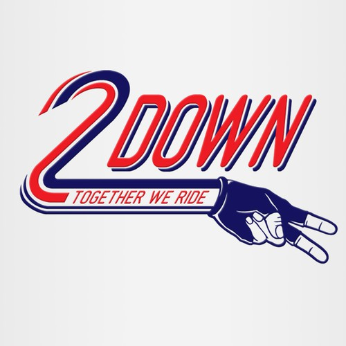 Two Down or 2 down  needs a new logo