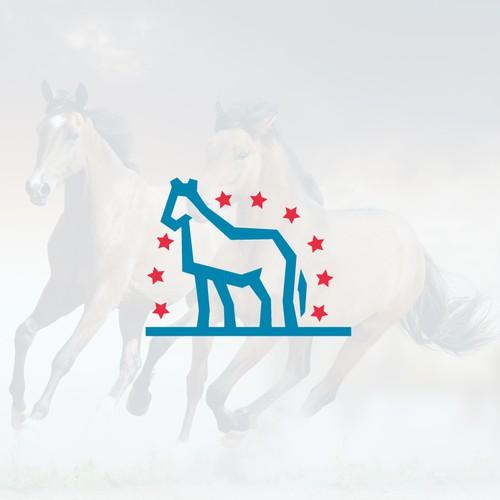 Logo for Sweatbeau Horses