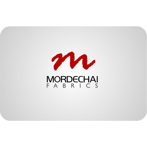 Help Mordechai Fabrics with a new logo