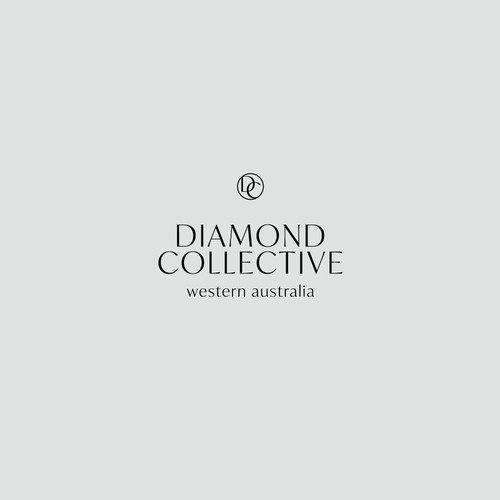 Sophisticated logo concept for jeweler