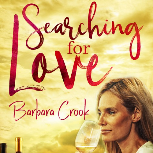 Book cover design - Searching for Love by Barbara Crook