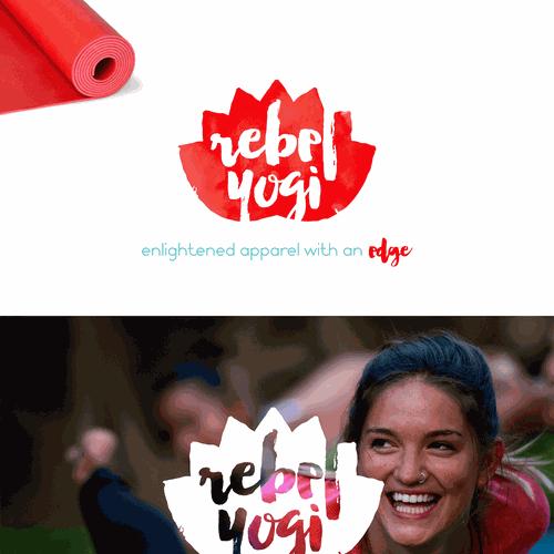 Logo design fro an edgy yoga brand