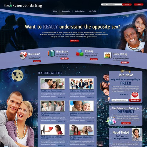 Serial Entrepreneurs: Need Intelligent Dating Website Design