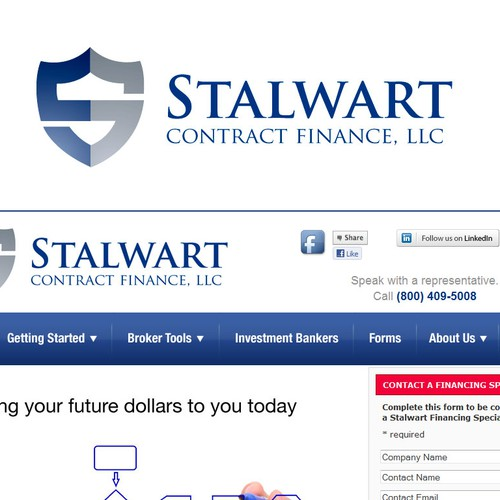 logo for Stalwart Contract Finance, LLC