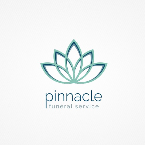 Logo for funeral service.