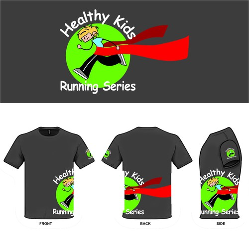 Healty Kids Running Series