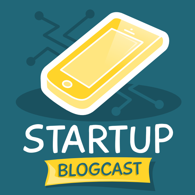 Create cover art for new podcast about startups and technology!