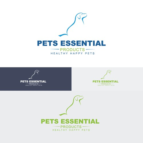 Create a brand logo for premium pet nutritional and health products