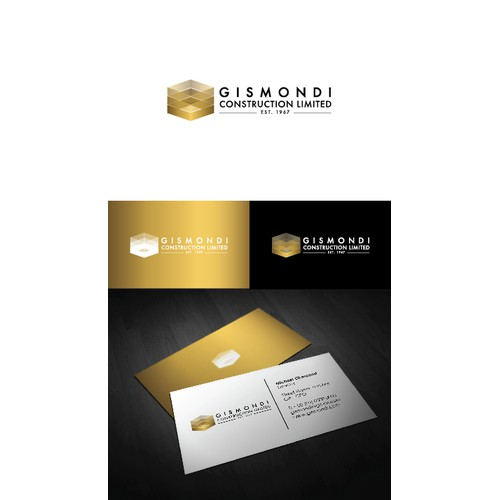 Gismondi Construction Limited needs a new logo and business card