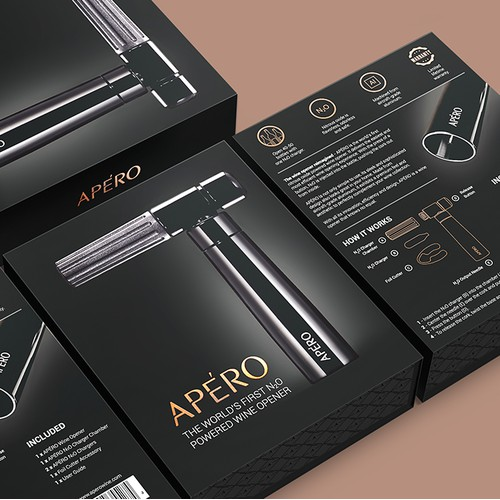 Apero Wine Opener Packaging