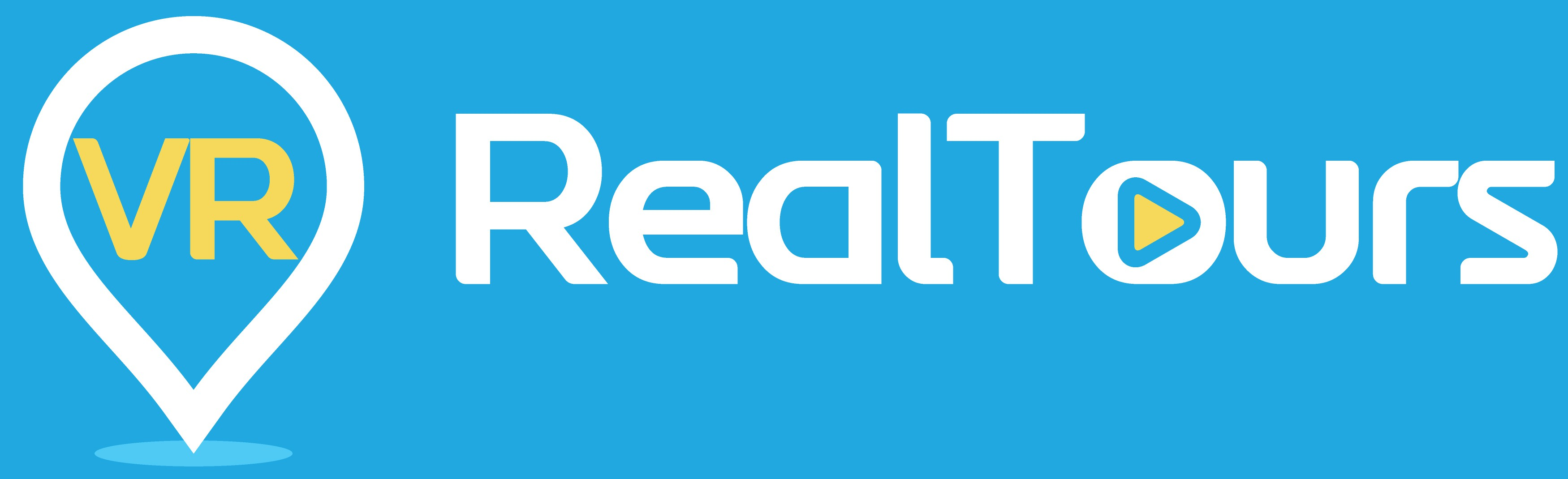 Design a sleek and clever logo for VR Real Tours